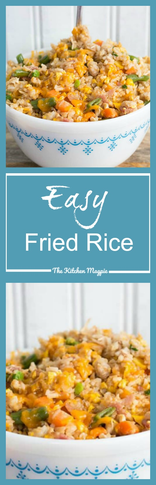 How to make easy fried rice recipe video the kitchen magpie how to make easy fried rice recipe video this homemade fried rice is the best recipe you will ever make at home ccuart Image collections