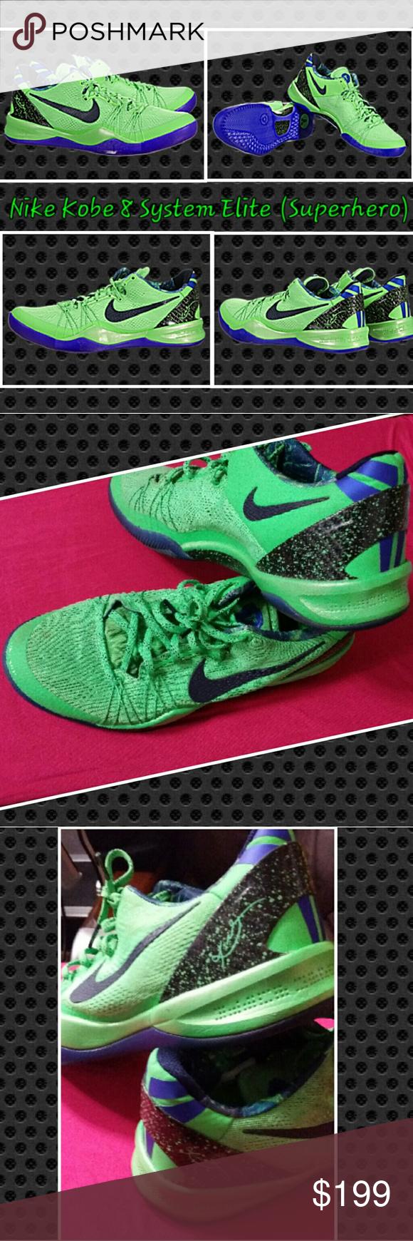check out 10fb8 79bd6 Nike Kobe 8 System Elite (Superhero) 586156-300 2013 Nike Kobe Bryant