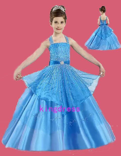 2012 Flower Girl Pageant Party Holiday prom bridal recit Wedding ...