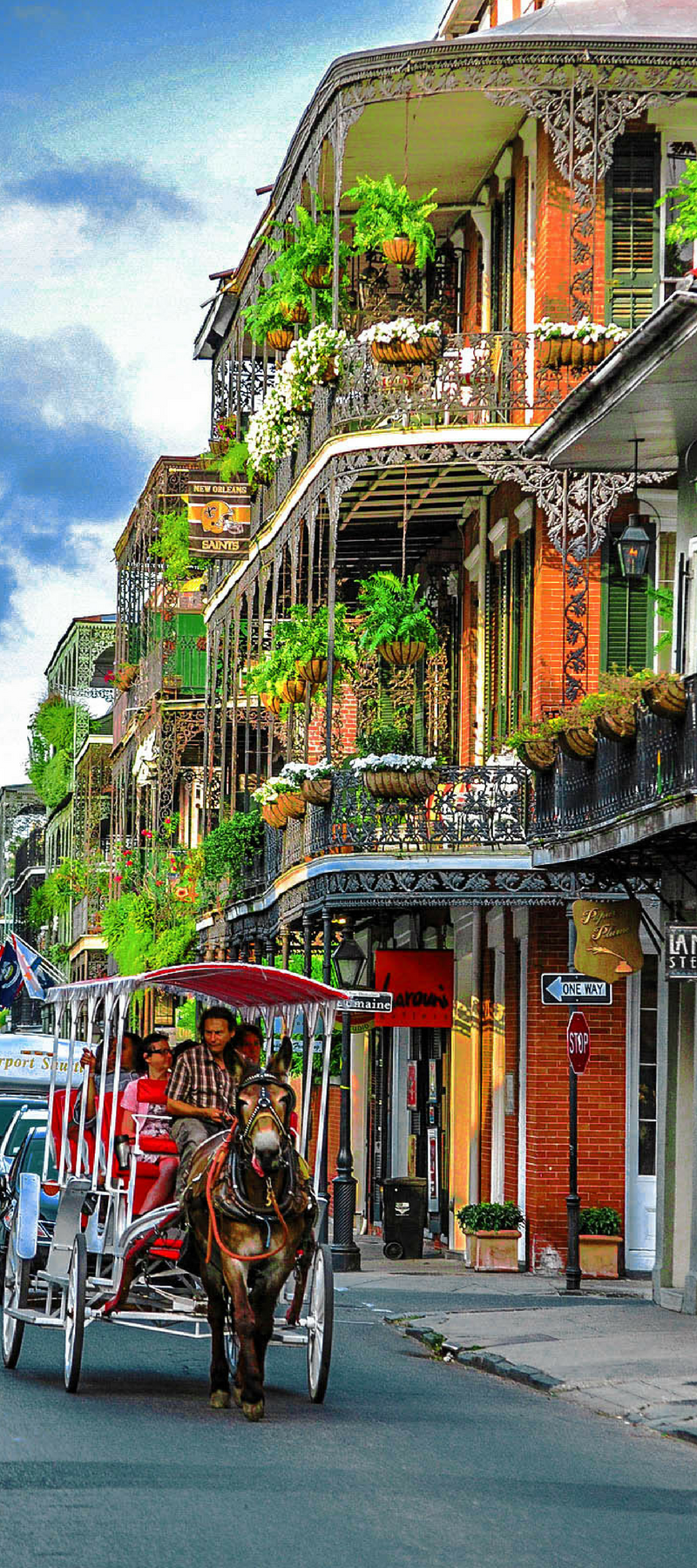 Make Sure To Visit Bourbon Street And The French Quarter When Visiting New Orleans Louisiana