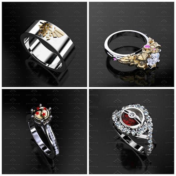 Dorky Wedding Rings