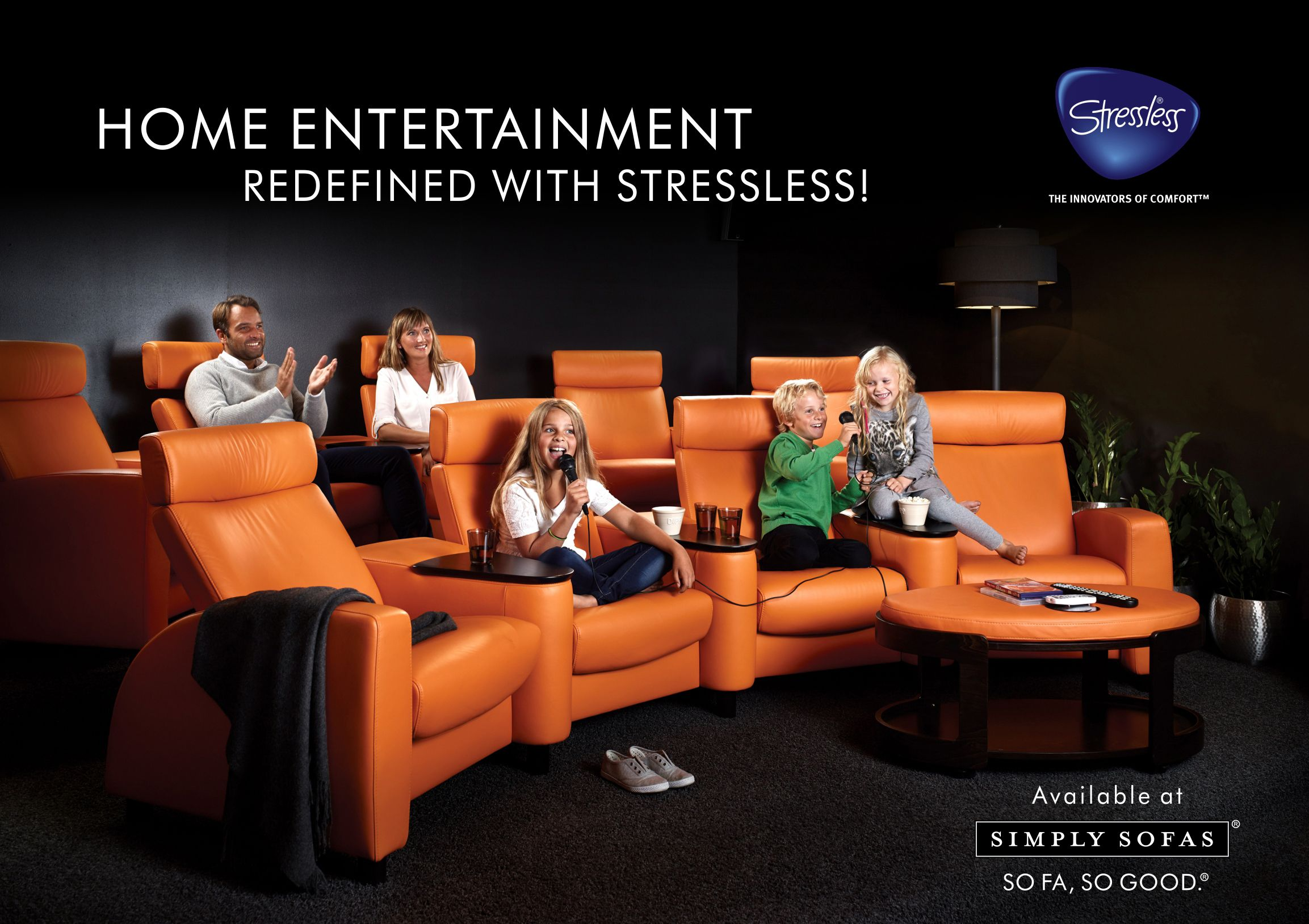It S Vacation Time Entertain In Style With Home Theatre Seating