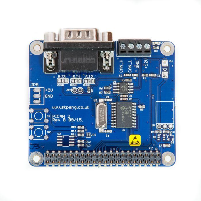 PiCAN2 CAN-Bus Board for Raspberry Pi 2 [RSP-PICAN2] - £26 90 : SK