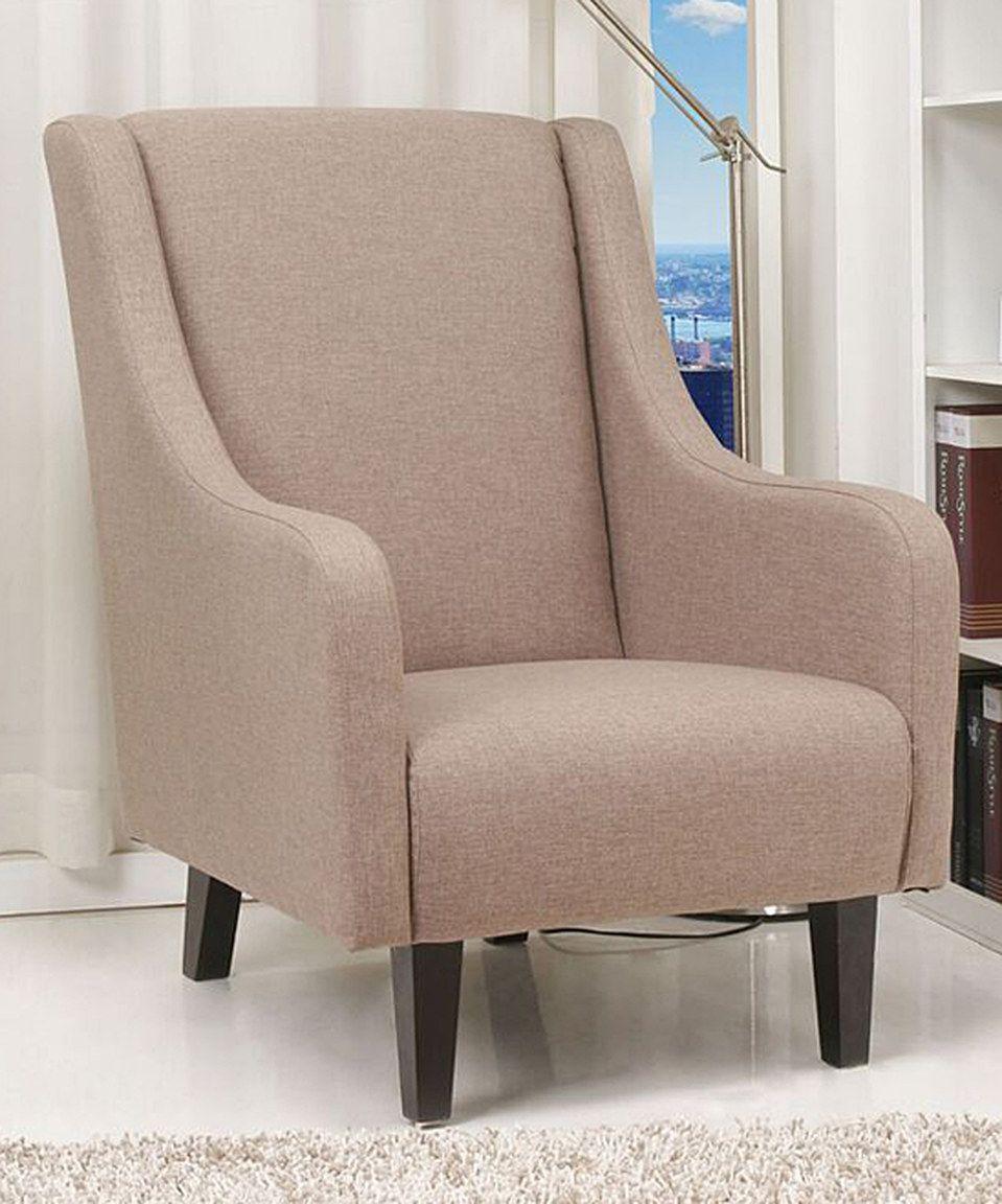 Cappuccino Anaheim Arm Chair by Gold Sparrow #zulily #zulilyfinds