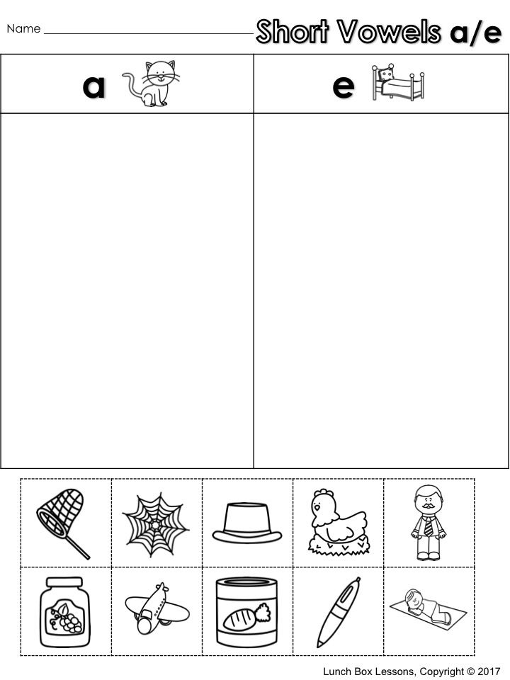 Pin On Short Vowel Activities Short vowel u worksheets