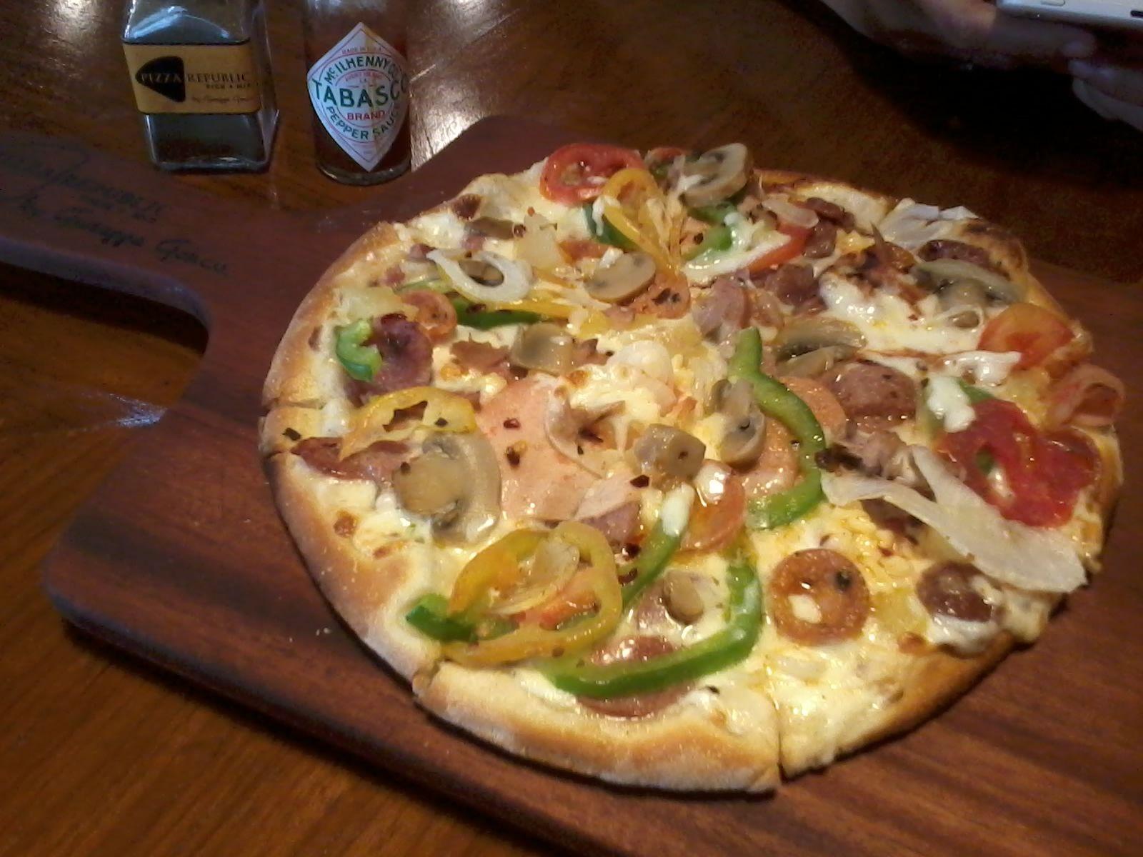 Pizza Republic Pick + Mix tarathea's thoughts   live.learn.laugh.love.life
