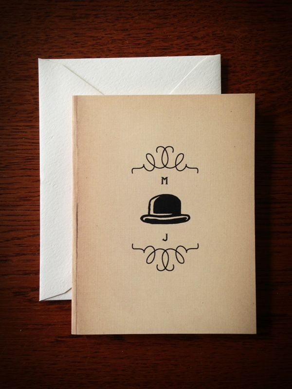 Top Hatter Personalized Note Card Set by Earmark Social Paper Goods