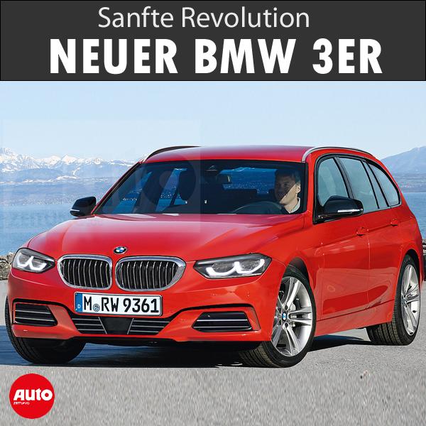 Bmw 3er Touring 2019 Motor Ausstattung Bmw Autozeitung Bmw Logo
