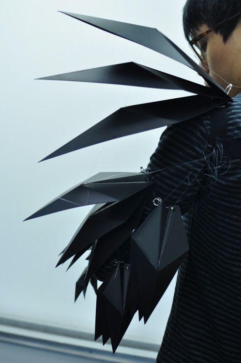 moonbakerey - raw-r-evolution: devojka: my semester's design...