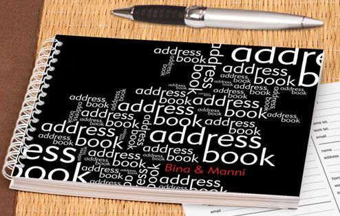 word medley personalised address book gifts for grown ups