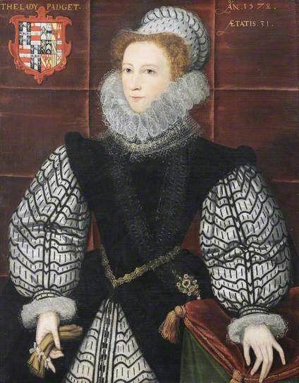 Portrait de Lady Padget, âgée de 31 ans, 1578 Nazareth Newton
