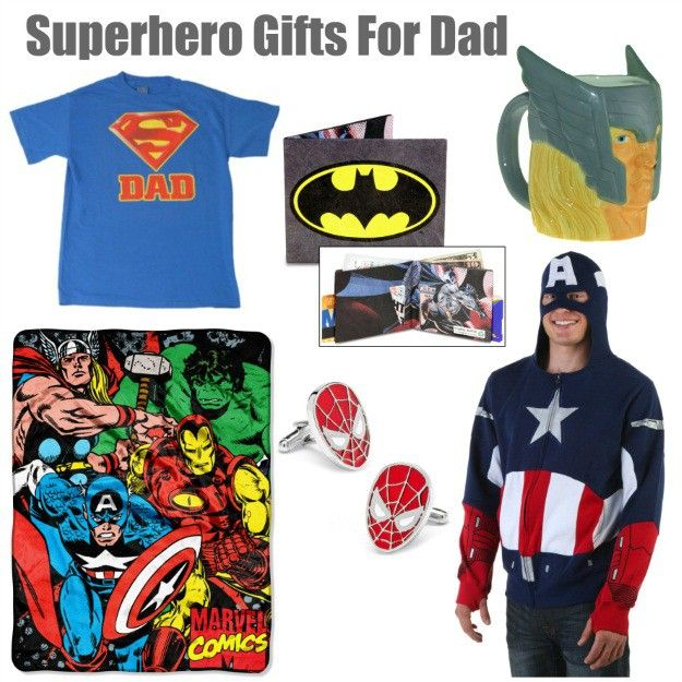 All dads are superheroes, but some dads are big fans OF superheroes! For those guys, check out these gift ideas!