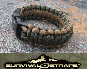 Survival Straps Parachute Cord Survival Bracelets (survivalstraps) | SurvivalMetrics.com | Survival Metrics.Com, LLC