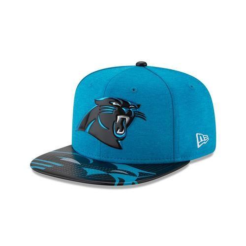 46bf1104ffd Carolina Panthers Hat New Era 2017 NFL Draft On Stage 9Fifty Snapback Cap