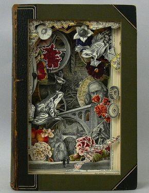 3D book sculpture - alexander korzer-robinson