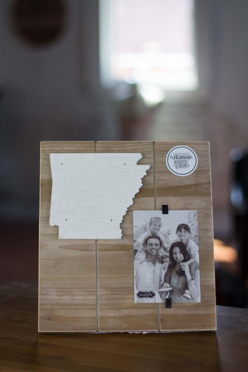 Arkansas State Picture Frame