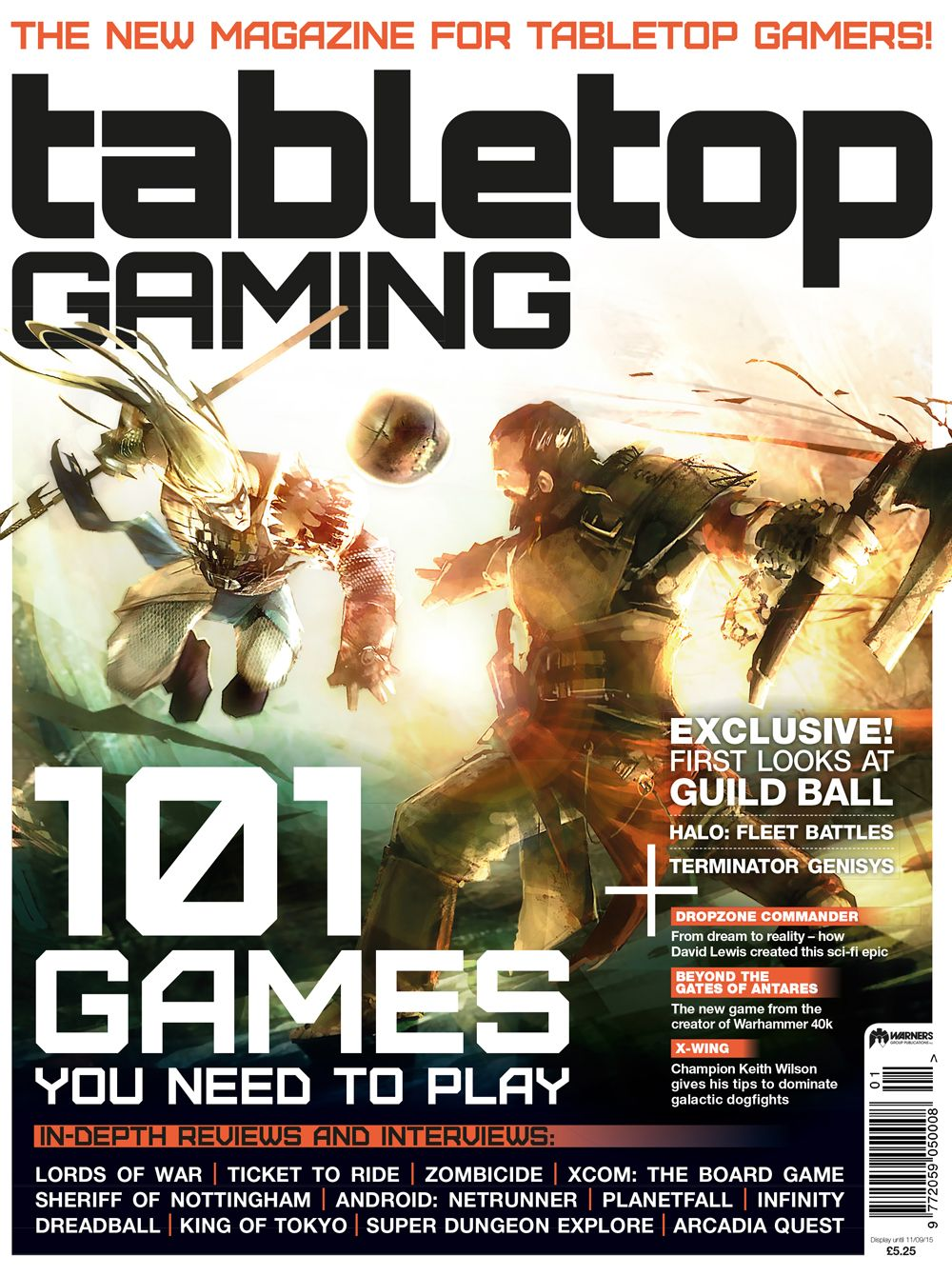 BRAND NEW TABLETOP GAMING MAGAZINE LAUNCHES TODAY AT UK