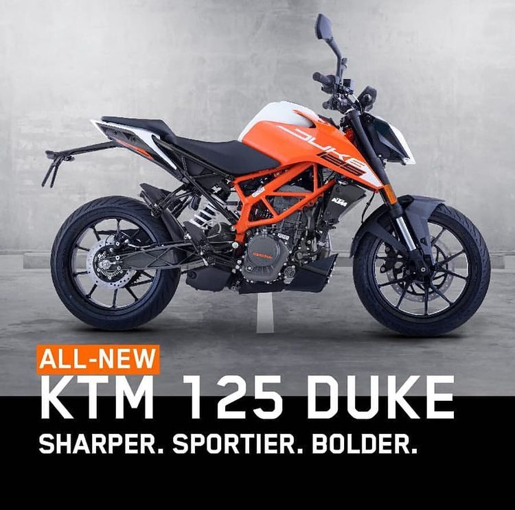 Ktm Duke 125 Fan Page On Instagram Ready To Race In A Striking New Avatar Presenting The All New Ktm 125 Duke With A Sharper Style Spo Ktm New Ktm Ktm Duke