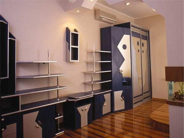 Шкафы своими руками в зале