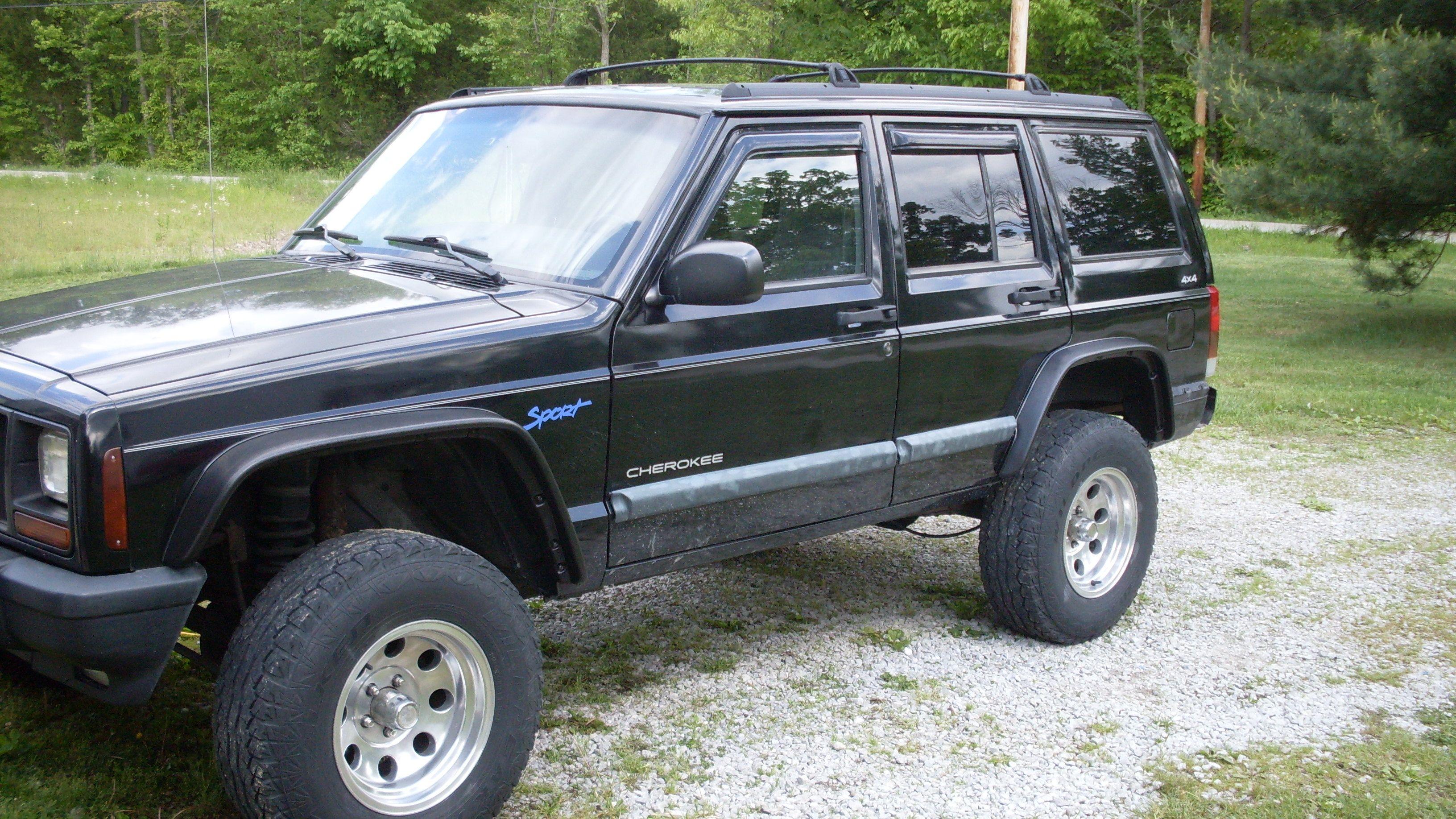 V2 Jeep Cherokee Xj Heavy Duty Flat Fender Flares Jeep