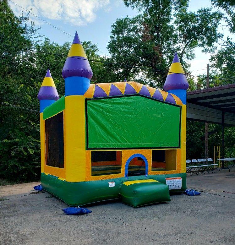 Jungle bounce house bounce house