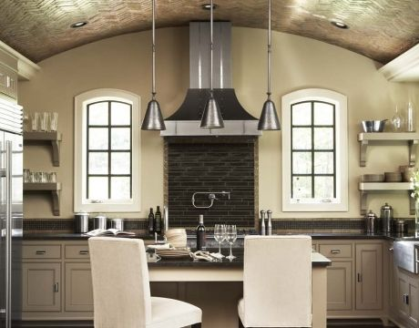 kitchen trends 2013 | Interior Design: Kitchen Trends 2013 | KAREN MILLS  Tile work and grey color