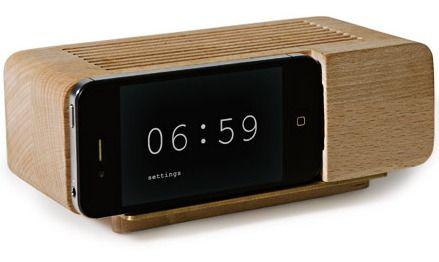 Areaware's Alarm Dock $40