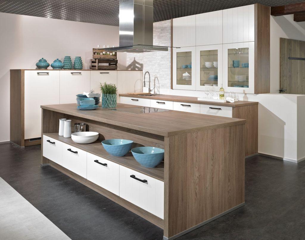 Wellmann L Küche 536 VILAS magnolie / anthrazit | Küche für Mami ...
