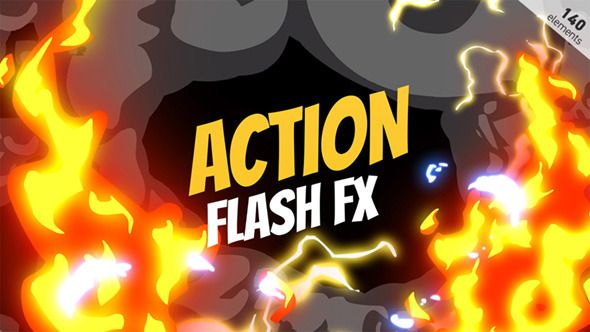 Action Flash Fx Elements (Elements) After Effects Templates
