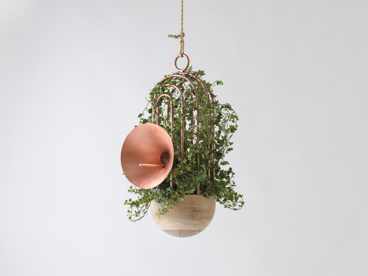 'Orator' Bird Feeder, Nest & Speaker by Katia Tolstykh.