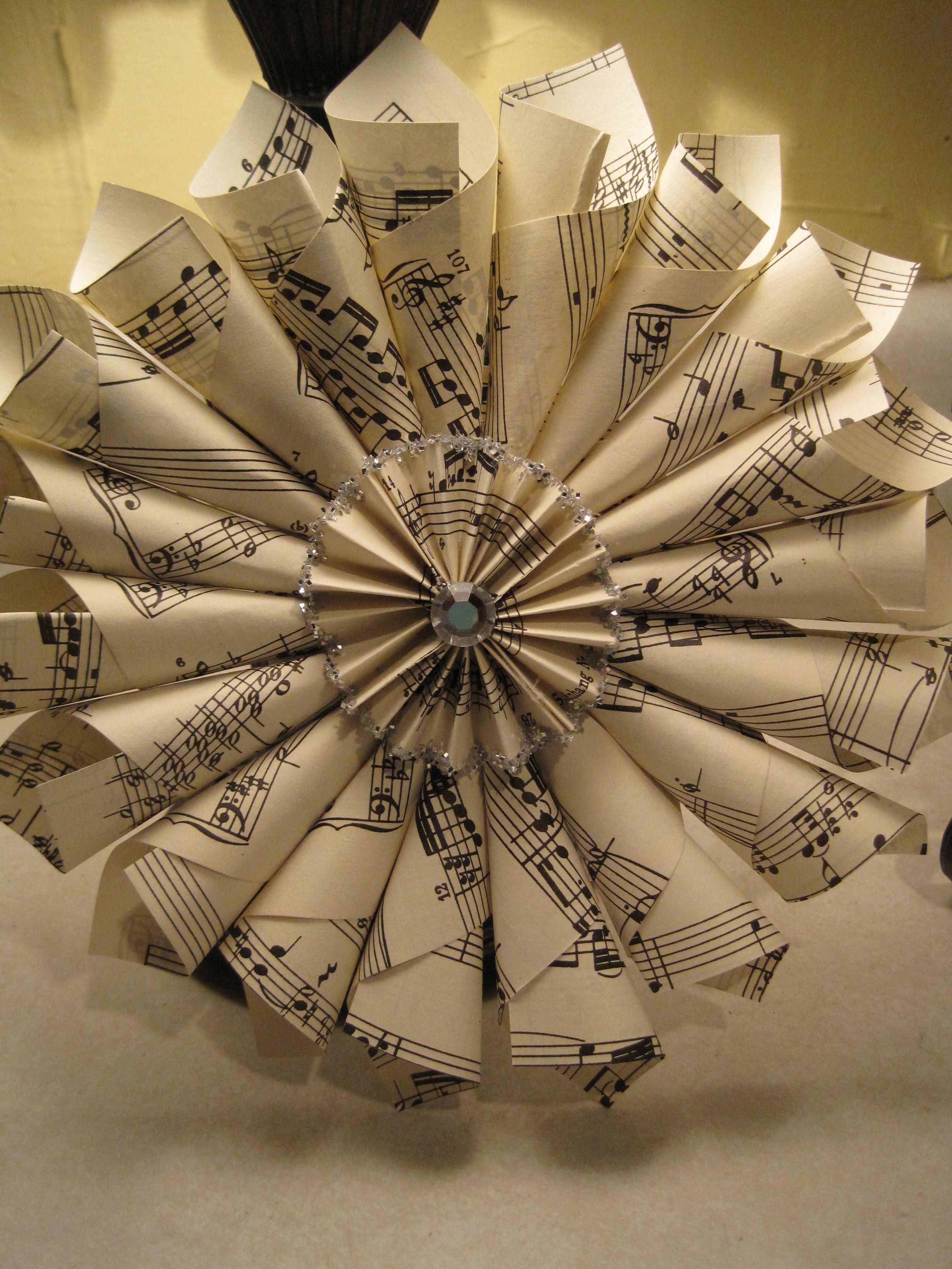 Corona/ornamental de partituras