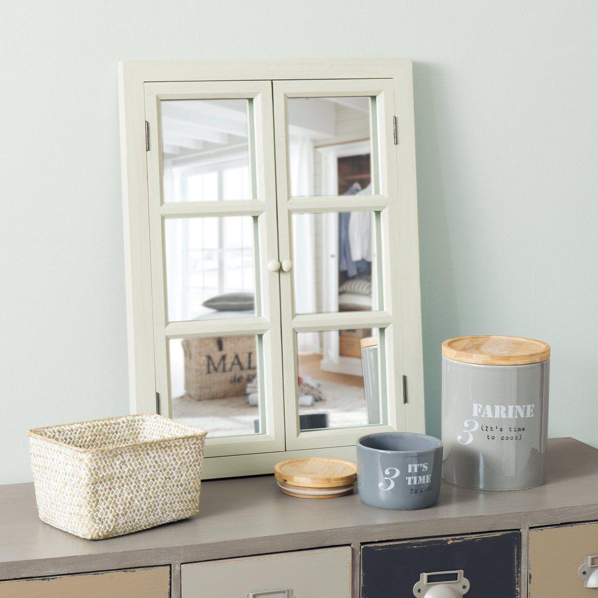 Miroir fen tre vert d 39 eau petit mod le home style for Fenetre miroir