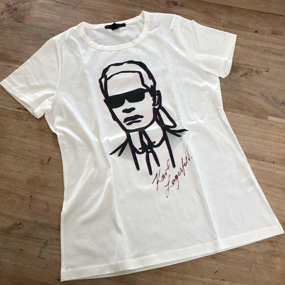 Finden Sie Top Angebote Fur Karl Lagerfeld For H M Shirt Damen Grosse M Weiss Neu Limited Edition Bei Ebay Kostenlose Lief Karl Lagerfeld Shirts Lagerfeld