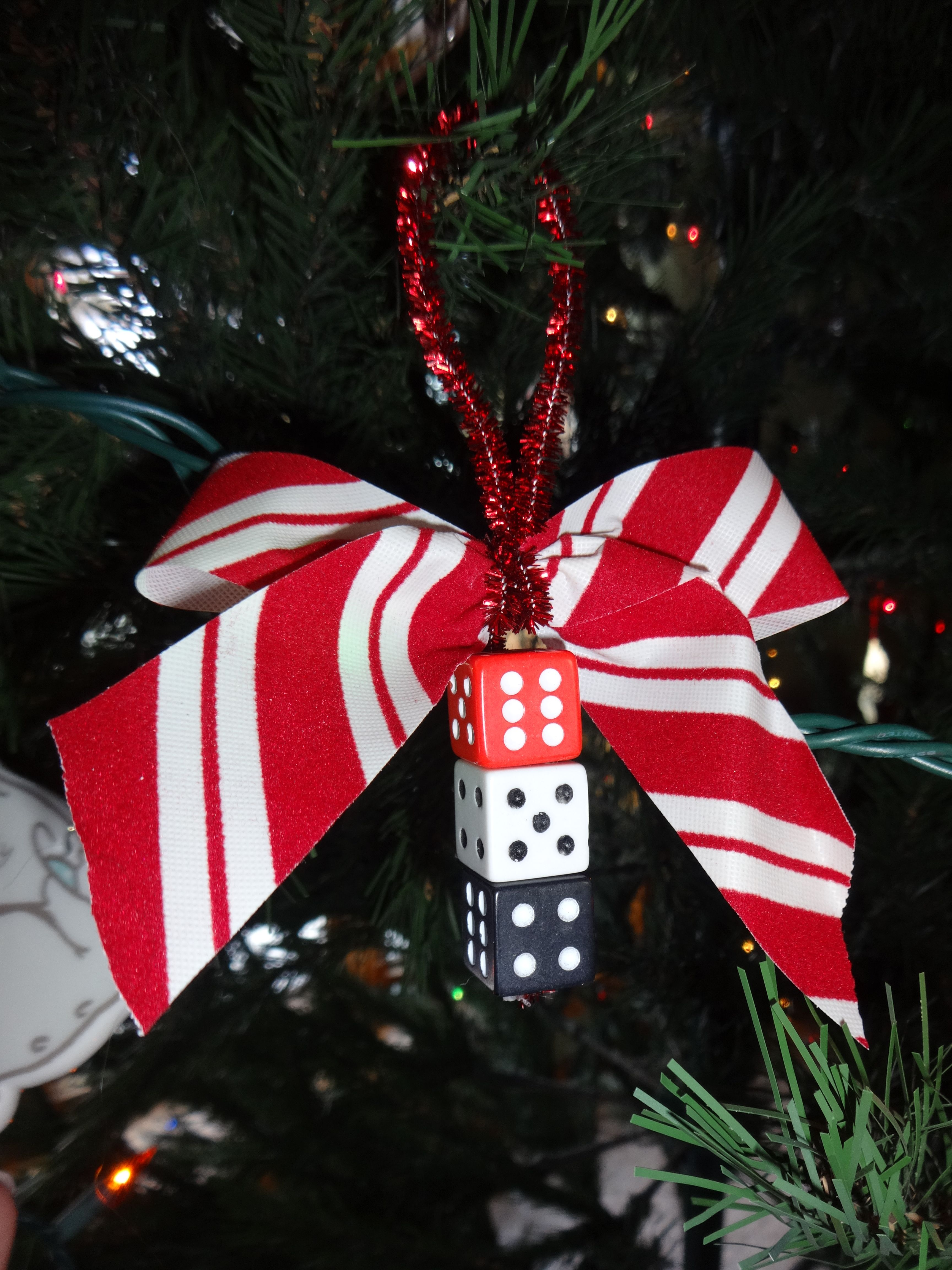 Christmas Bunco Party Ideas Part - 17: Just Made 12 Dice Ornaments For The Ladies In My Christmas Bunco Club! Bunco  ThemesBunco IdeasParty ...
