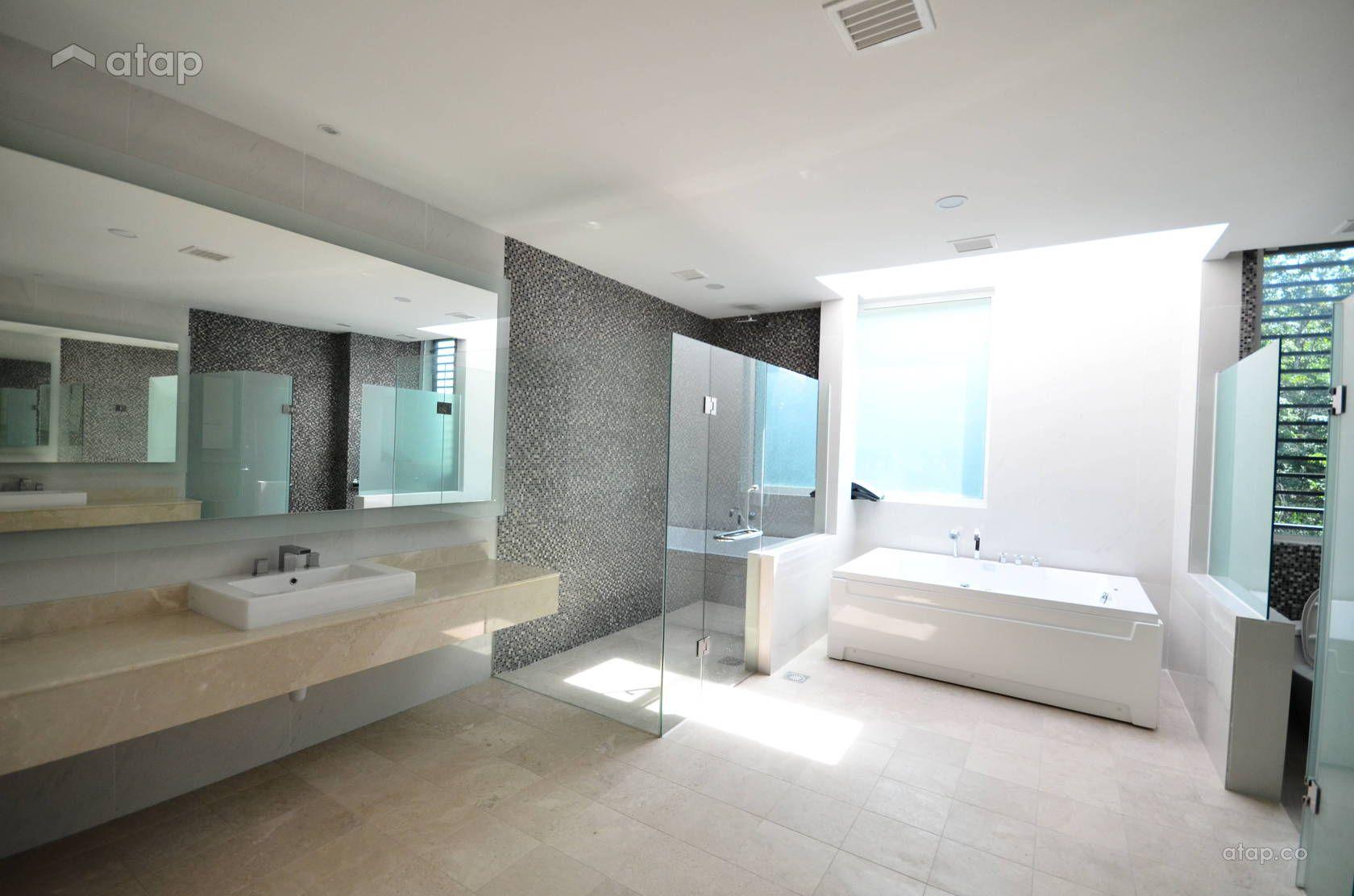 Modern Bathroom Semi Detached Design Ideas Photos Malaysia Atap Co Modern Bathroom Bathroom Semi Detached