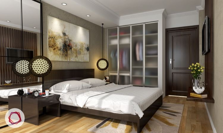 Wardrobe designs for small indian bedrooms places to Bedroom designs india