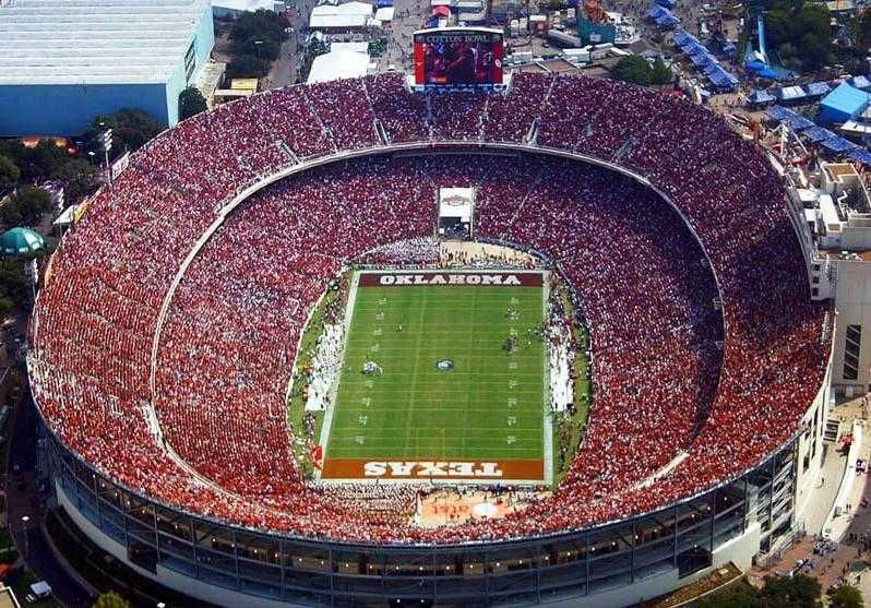 Top 10 Biggest Football Stadiums In The World Rose Bowl Stadium