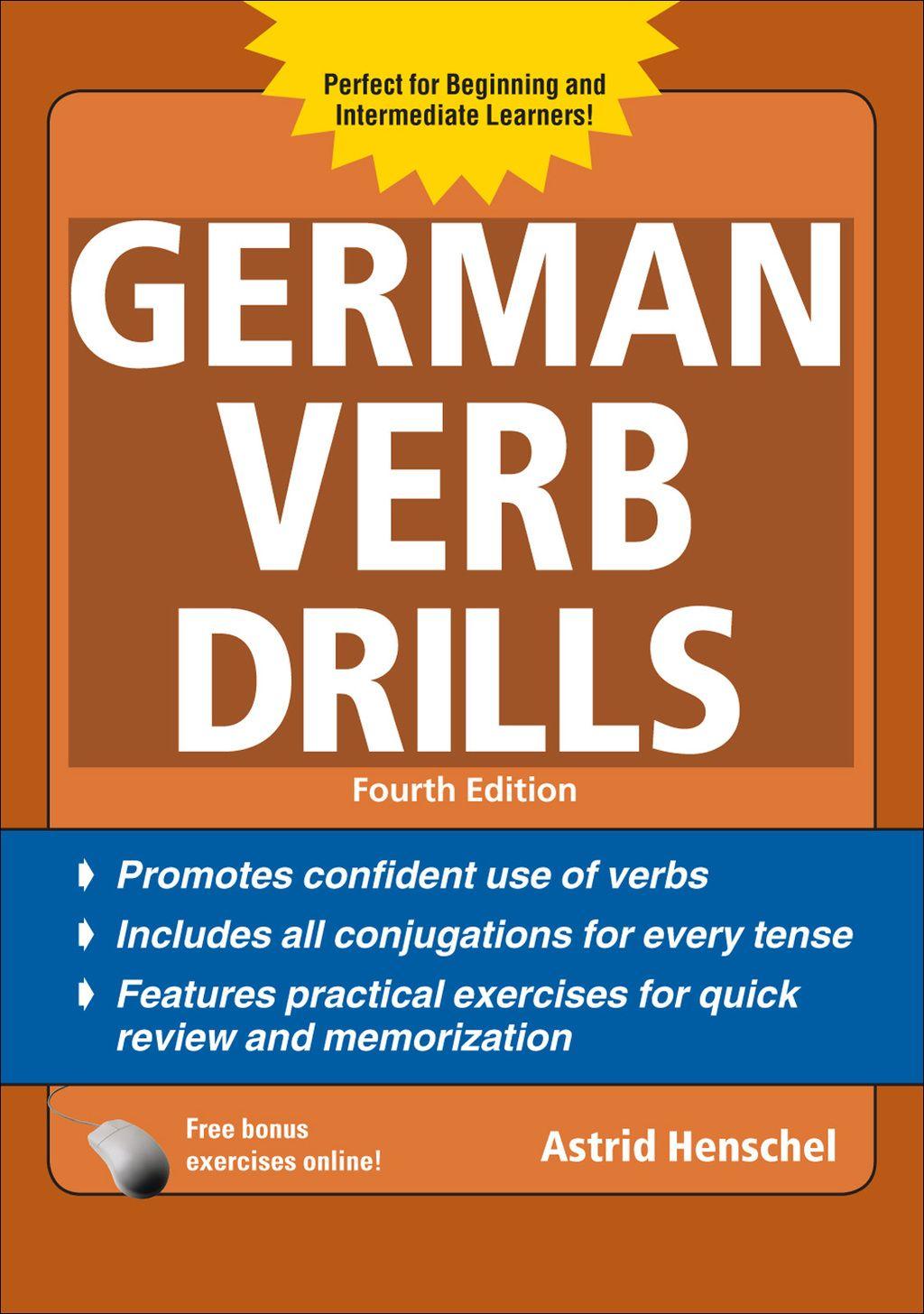 German Verb Drills Fourth Edition Ebook