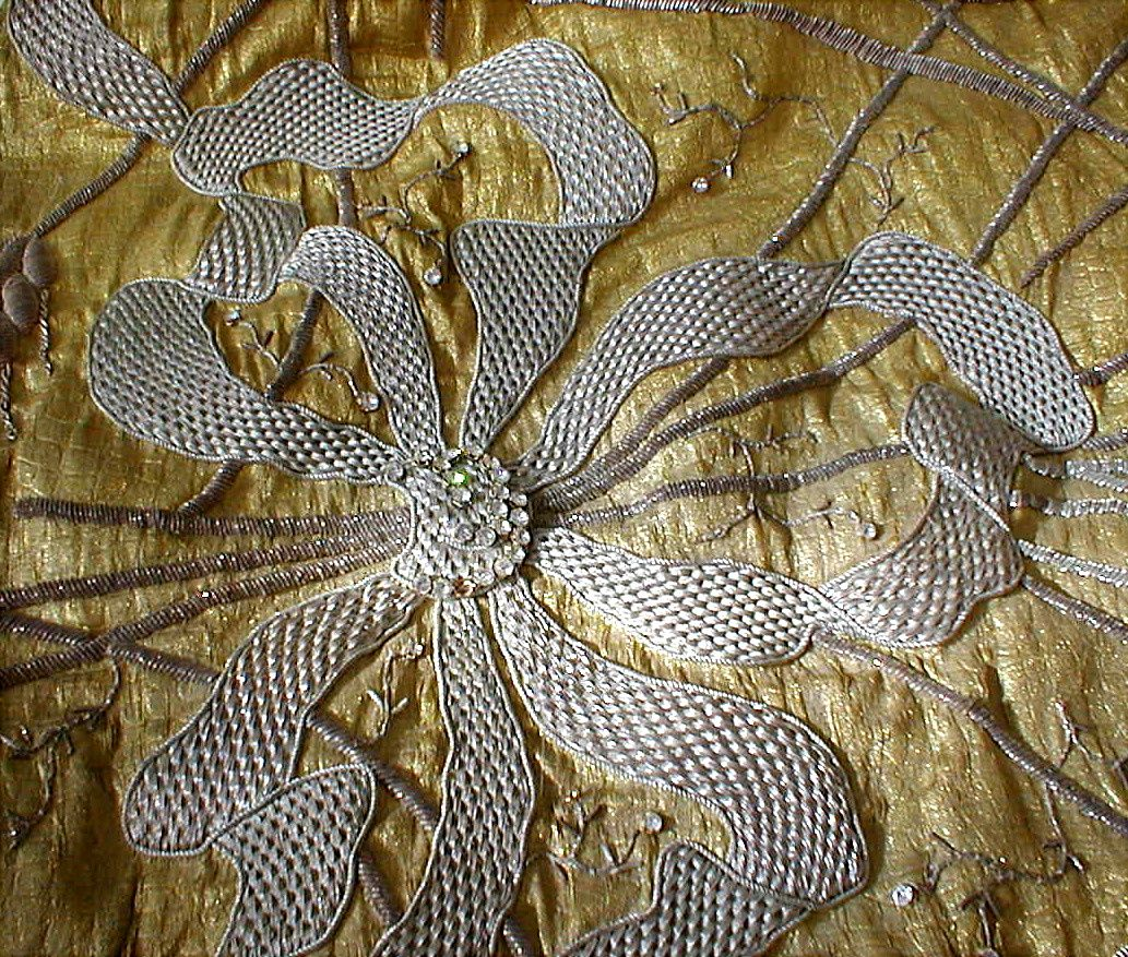 Coronation gown (detail), Queen Marie of Romania  Collection