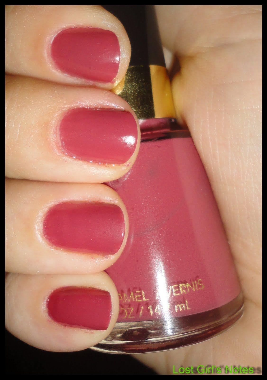 revlon nail polish windsor rose | Revlon Teak Rose ...