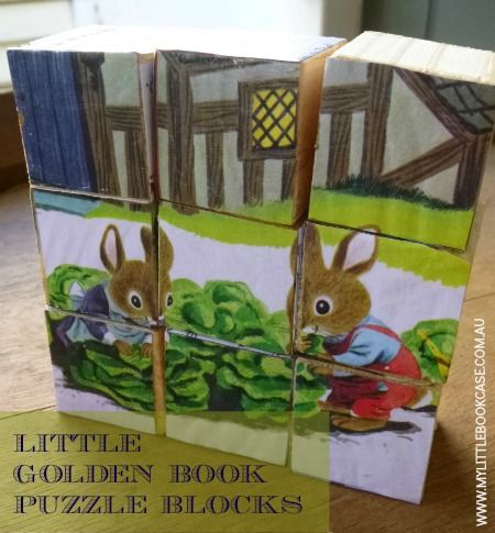 Little Golden Book Puzzle Blocks Maybe By The Time I Have