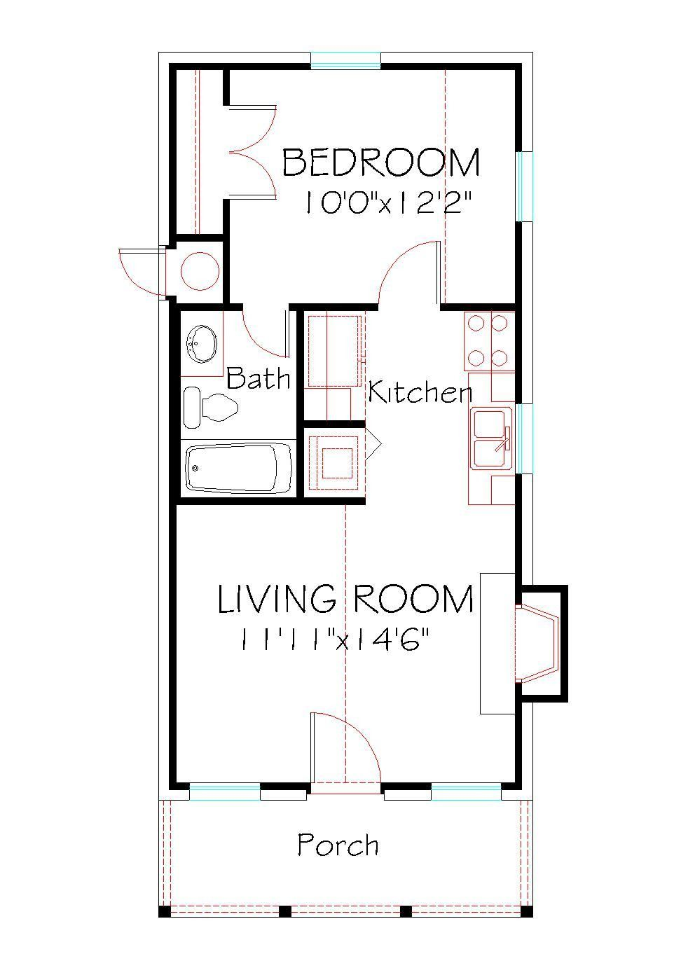 Awesome One Level Tiny House Ideas Floor Plans 520 149 Flr Plan Model In 2020 Tiny House Layout Small House Floor Plans Small House Layout