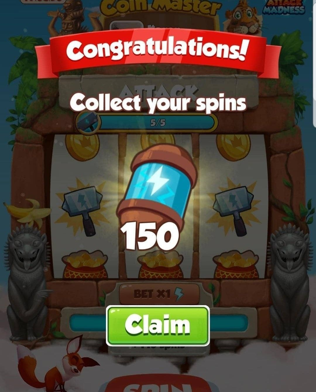 Claim Free Spin Link On My Profile . . Coinmasterfreespin