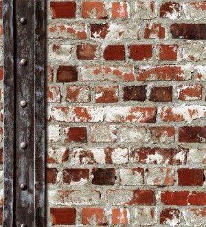 Papel Pintado Muro De Ladrillos Y Viga Estilo Industrial Rojo Caldera Riverton 2 421602 Fondo De Pantalla De Ladrillo Paredes De Ladrillo Pintadas Muro De Ladrillo