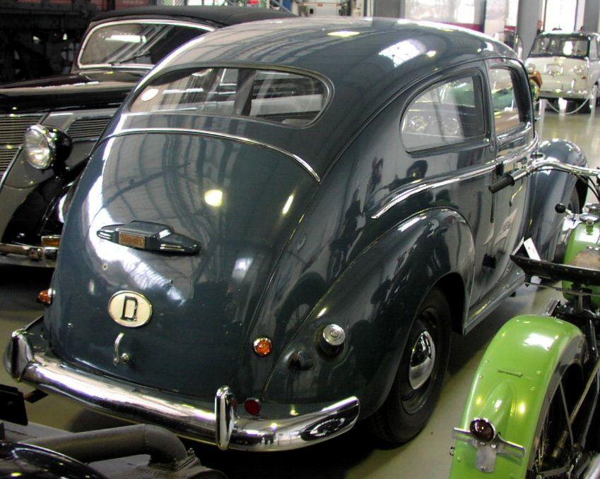 Ford Taunus 12m G13 1952 Vintage Cars Retro Cars Unique Cars