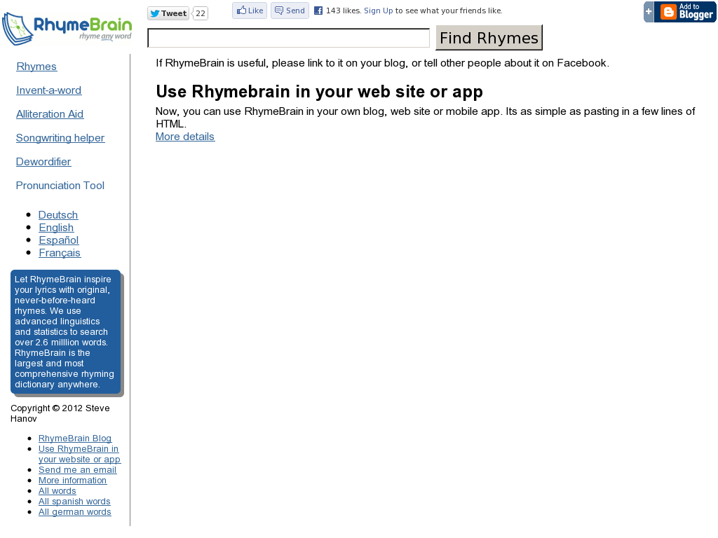 Rhymebrain dictionaries pinterest rhymebrain malvernweather Gallery