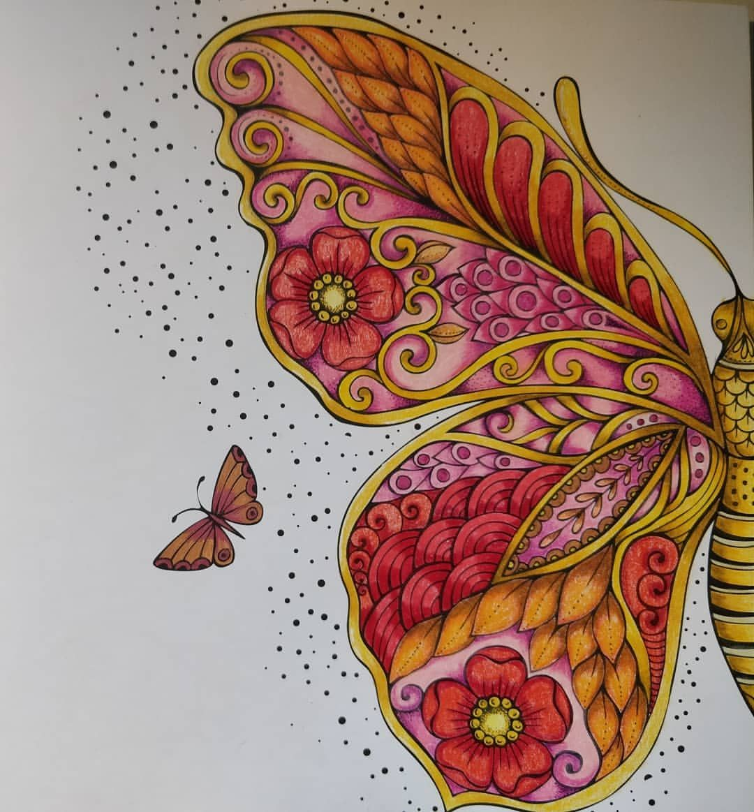 Pin By Callin Edwards On Drawing In 2020 With Images Whimsy Art Coloring Books Butterfly Painting
