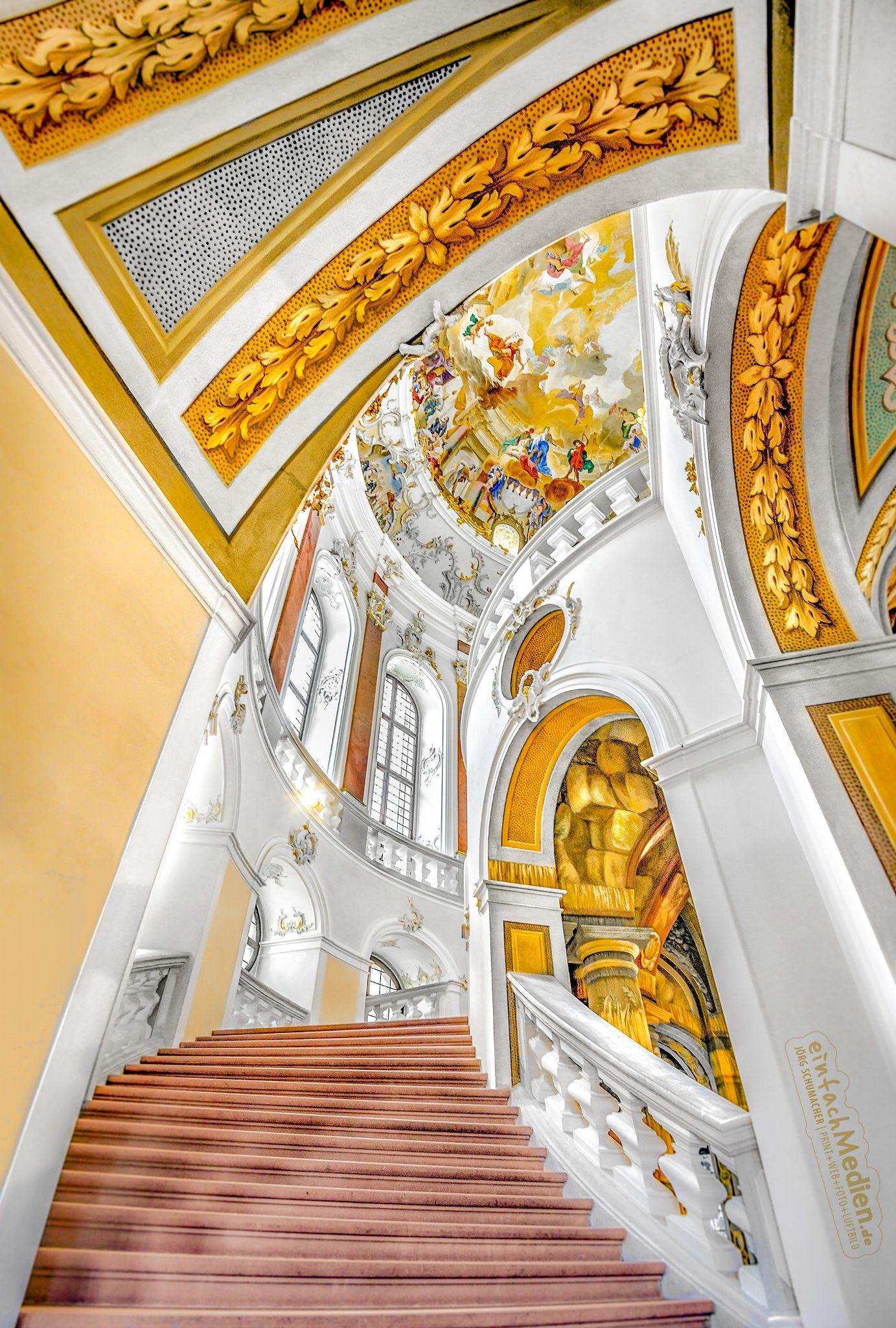 Schloss Bruchsal Castle Bruchsal Germany Schloss Bruchsal Ist Das Einzige Furstbischofliche Ba Bulgarian Architecture Germany Castles Amazing Architecture