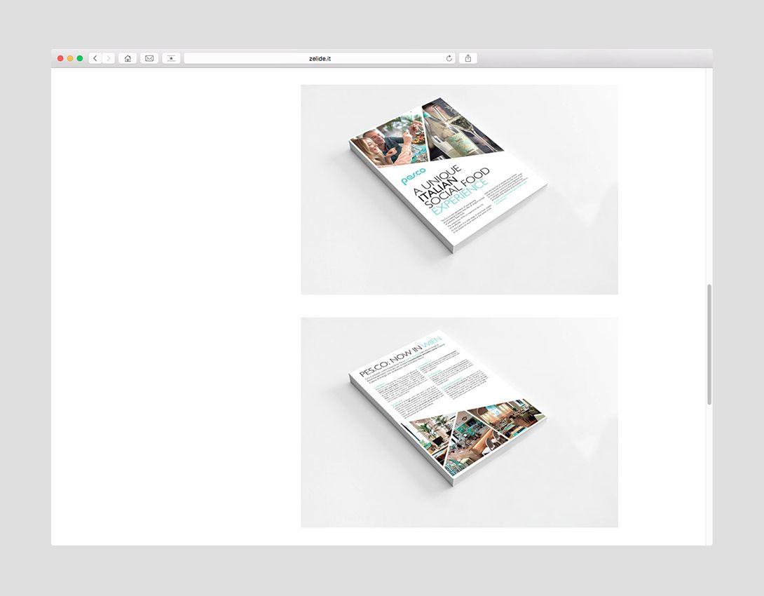 Zelide website #okcs #webdesign #web #graphicdesign #tipography