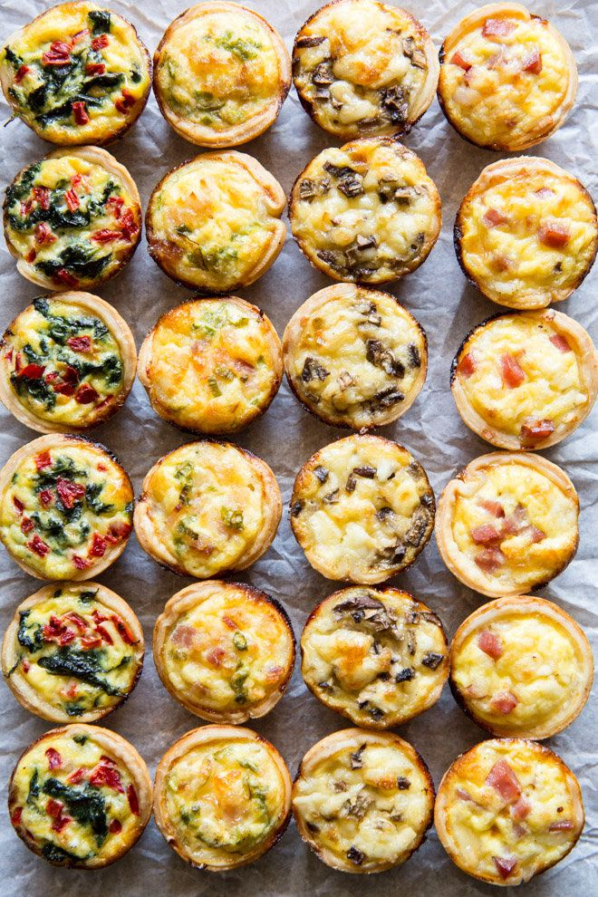 Skip the store-bought and make your own Mini Quiche! Try these 4 tasty combos or choose your own adventure. Make ahead/freezer friendly and great for kids!